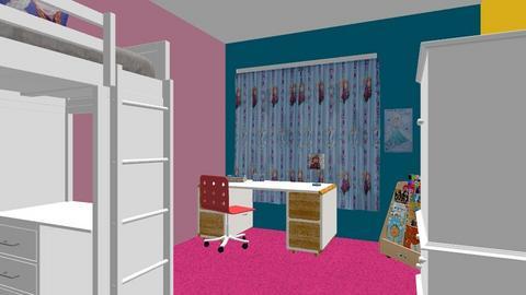 Kasteelhof 2 - Kids room  - by KoenPenders