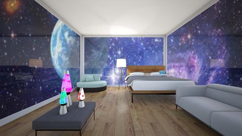 Starry sky - Bedroom  - by Celia_123
