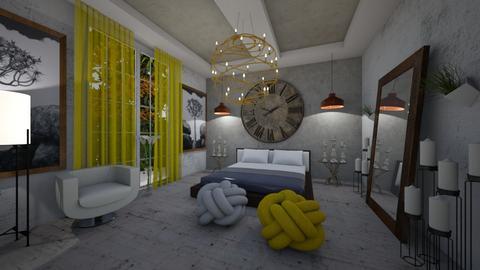 Modern BedRoom - Modern - Bedroom  - by Nikos Tsokos
