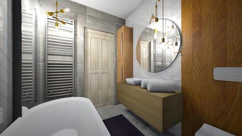 lazienka nasza 2 wersja - Bathroom  - by dagma89