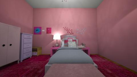 Girly Bedroom _not done_ - Modern - Bedroom  - by MerryChristmasBaybay