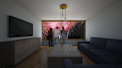 HAPPY NEW YEAR - Living room  - by Noa Jones