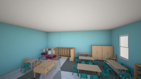 Kindergarten - by XAAGCBKJANNHQKFQEWYJNGZHHAXHQPN