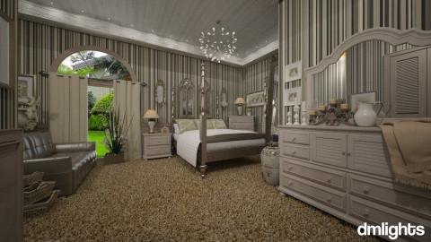 Colonial Suites - Vintage - Bedroom  - by DMLights-user-981898