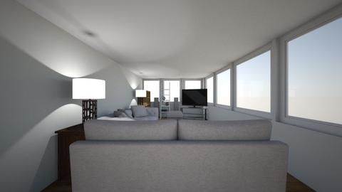 TV_NW_SterioW - Living room  - by nickyoshida