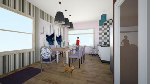 comedor de esta - Minimal - Dining room - by ZARIGUEYA