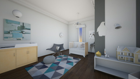 nursery - Modern - Kids room  - by rachelmarieknepp