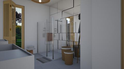 Zen_main bathroom2 - Bathroom  - by lovasemoke