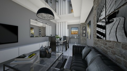living2 - Living room - by kc jones
