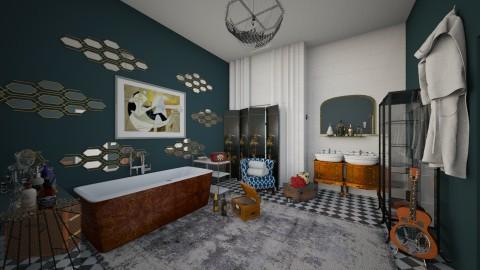 the golden era - Vintage - Bathroom  - by Ripley86