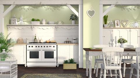 Shabby Chic Kitchen - Kitchen  - by LB1981