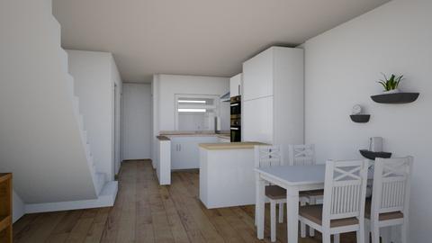 cocina final - Kitchen  - by selvadejaras