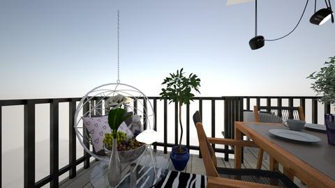our balkony - Garden  - by thefamilyislam