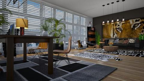 NYC1 - Modern - Office  - by LuzMa HL