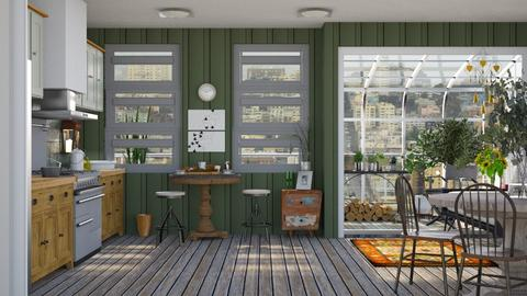 Green living - Modern - Kitchen  - by augustmoon