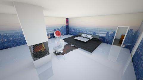 projet maison de reve - Modern - Bedroom  - by Liam Plomteux