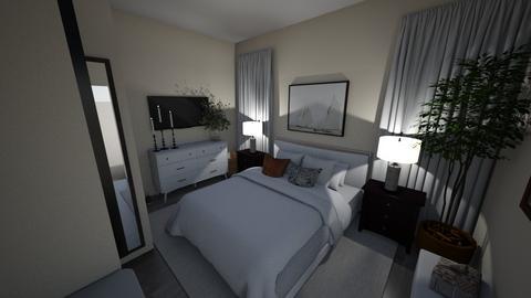 bedroom 2 - Modern - Bedroom  - by meaganmcc