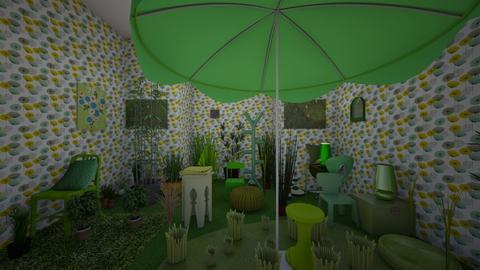 green as grass - Garden  - by nickyandtwilight