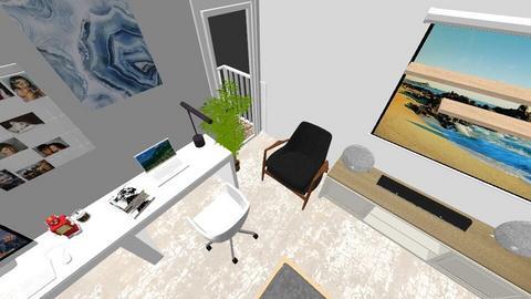 Bedroom white - Minimal - Bedroom  - by phwnganh