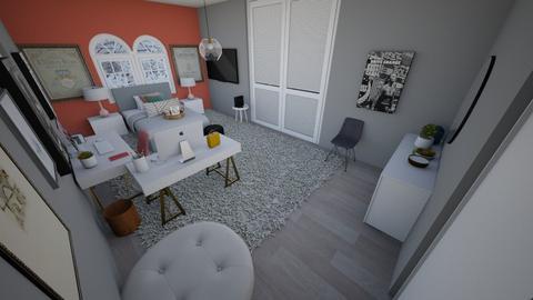 Love live pink - Bedroom  - by Chayjerad