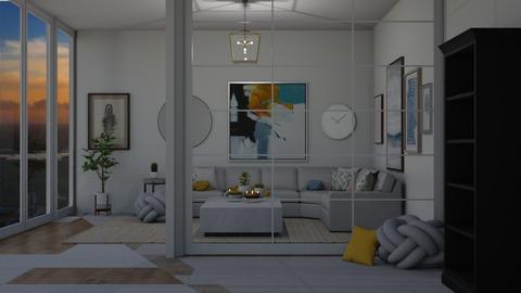 modern living room - Modern - Living room  - by Chayjerad