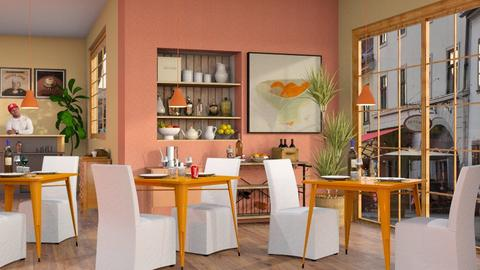 Orange Restaurant - Eclectic - by Sally Simpson