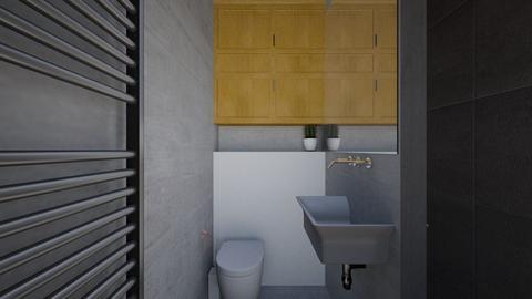 Grey Side2 - Bathroom - by RachDyer