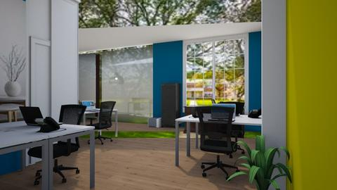 Entrance view - Office  - by Jeycie Designs