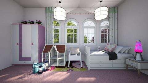 Girl to teenager - Feminine - Kids room  - by Agamanta