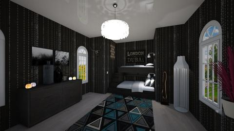 bedroom - by Annemarij Roskam