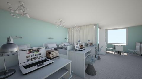 HUGE DORM - Living room - by EliseClare