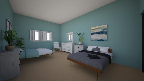 Bedroom at Trevors - by Zeldathedoge