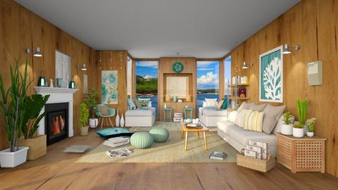 Maria Sea Life - Bedroom  - by Ferplace