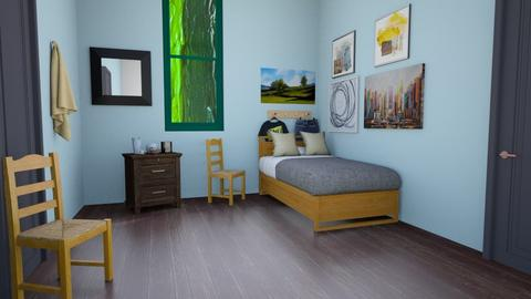 Van Gogh Bedroom - Kids room  - by Wensday