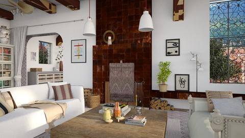 Mediterranean - Living room - by marinmarin