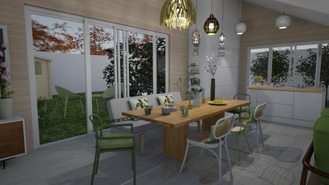 Dining room - Modern - Kitchen  - by Annathea