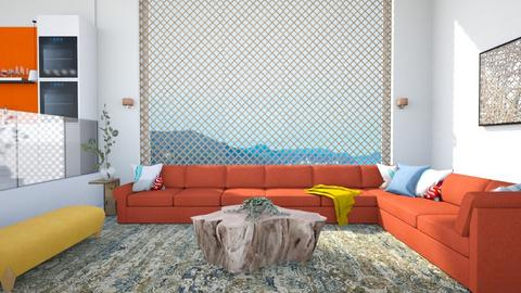 Living in Color - Living room  - by 2001blon