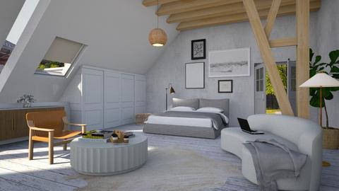 attic - Minimal - Bedroom  - by tolo13lolo