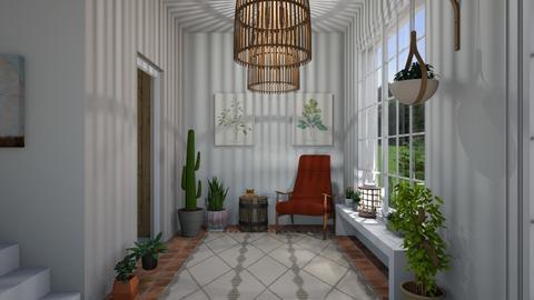 jungle - Living room - by Carolina Soriani