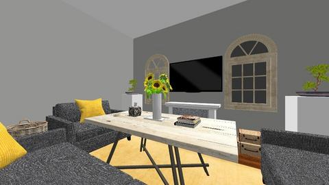Interior Design II  - Modern - Living room  - by laurafoster404
