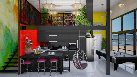 playful kitchen - Modern - Kitchen - by Ida Dzanovic