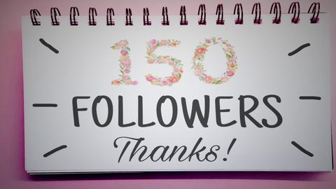 Thanks for 150 followers  - by cagla_deniz_