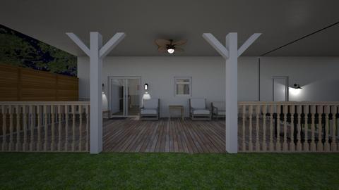Summer Porch - Garden  - by mspence03