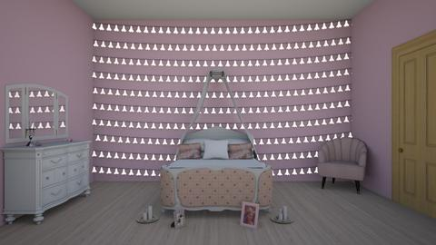 princess dream room - Glamour - Bedroom  - by aschaper