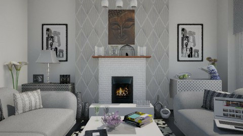 EW - Modern - Living room - by milyca8