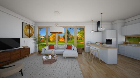 soft live - Living room - by nuray kalkan