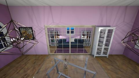 purple chill out space - Modern - by lazy_loserTuT