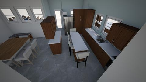 New Old House_Main Floor4 - Kitchen - by sbock01