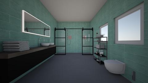 Badkamer - Bathroom - by marianijzink