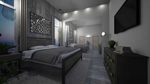 bedroom - Bedroom - by kaplanamit111